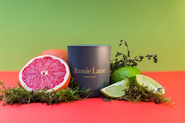 Annie Lane Lime & Ruby Grapefruit Candle